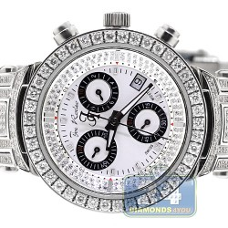 Womens Diamond Watch Joe Rodeo Master JJML11 3.70 ct Silver