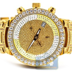 Womens Diamond Watch Joe Rodeo Master JJML12 3.70 ct All Yellow