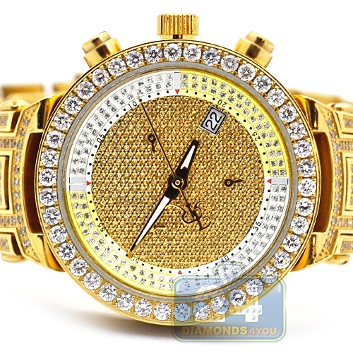 Womens Diamond Watch Joe Rodeo Master Jjml12 3 70 Ct All