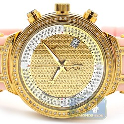 Womens Diamond Watch Joe Rodeo Master JJML5 0.90 ct Pink Band