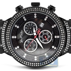 Mens Diamond Watch Joe Rodeo Master JJM66 2.20 ct Black Case