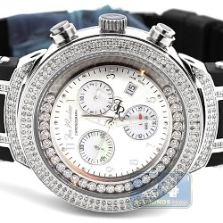 Mens Diamond Watch Joe Rodeo Master JJMS1(W) 2.20 ct White Dial