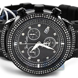 Mens Diamond Watch Joe Rodeo Master JJM30 2.20 ct Black