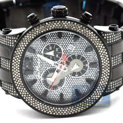 Mens Diamond Black Watch Joe Rodeo Broadway JRBR14 5.00 Carats