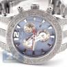 Mens Diamond Watch Joe Rodeo Broadway JRBR16 5.00 ct Blue Dial