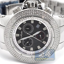 Joe Rodeo Razor 4.00 ct Diamond Mens Steel Bracelet Watch JROR3