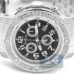 Joe Rodeo Apollo 1.70 ct Diamond Mens Steel Watch IAPO5