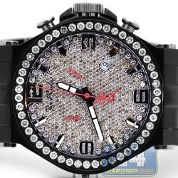 Joe Rodeo Phantom 8.75 ct Diamond Mens Watch JPTM67