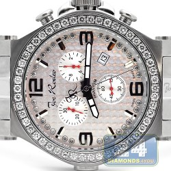 Joe Rodeo Phantom 3.25 ct Diamond Mens Watch JPTM34