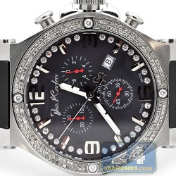 Joe Rodeo Phantom 2.25 ct Diamond Mens Watch JPTM69