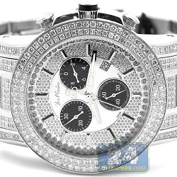 Joe Rodeo Trooper 14.50 ct Diamond Mens Watch JTRO6