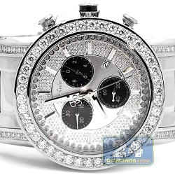 Joe Rodeo Trooper 4.50 ct Diamond Mens Watch RJTRO4