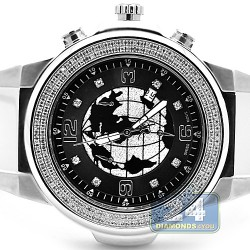 Joe Rodeo Panter 1.50 ct Diamond World Dial Mens Watch JPT8