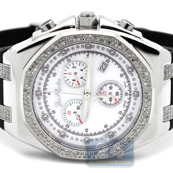 Mens Diamond White Dial Watch Joe Rodeo Panama JPAM1 2.15 ct