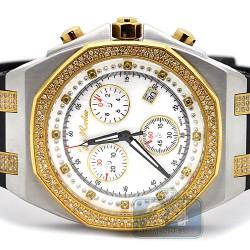 Joe Rodeo Panama 2.15 ct Diamond Two Tone Watch JPAM3