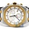 Mens Diamond Two Tone Watch Joe Rodeo Panama JPAM3 2.15 ct