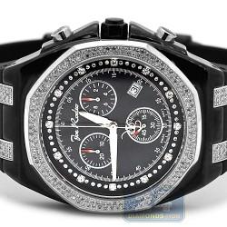 Mens Diamond Black Watch Joe Rodeo Panama JPAM5 2.15 Carat