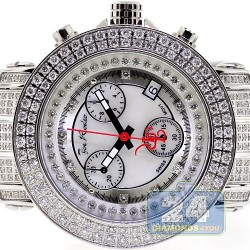 Womens Diamond Silver Watch Joe Rodeo Rio JRO17 10.00 Carat