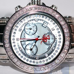 Womens Diamond White Dial Watch Joe Rodeo Rio JRO40 2.00 Carats