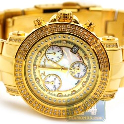 Womens Diamond Watch Joe Rodeo Rio JRO12 1.25 ct Yellow Gold