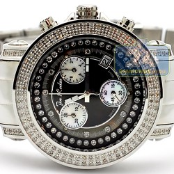 Womens Diamond Watch Joe Rodeo Rio JRO2 1.25 ct Black Dial