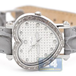 Joe Rodeo Mini Heart 0.27 ct Diamond Pave Womens Watch JRM1
