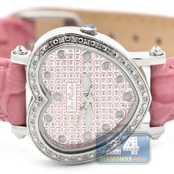 Joe Rodeo Pink Mini Heart 0.27 ct Diamond Womens Watch JRM6