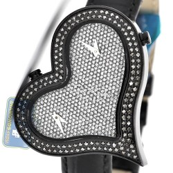 Joe Rodeo Sahara Heart 1.40 ct Diamond Pave Womens Watch JRS5