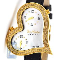Joe Rodeo Sahara Heart 1.40 ct Diamond Womens Watch JRS4