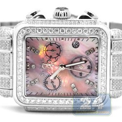Womens Diamond Watch Joe Rodeo Madison JRMD8 10.25 ct Pink