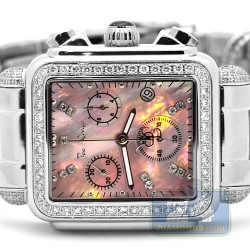 Womens Diamond Pink Dial Watch Joe Rodeo Madison JRMD29 2.0 ct