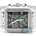 Joe Rodeo Madison 1.50 ct Diamond Black Dial Watch JRMD2