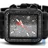 Womens Diamond Black Watch Joe Rodeo Madison JRMD201 1.50 ct