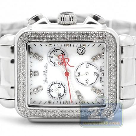 Womens Diamond White Dial Watch Joe Rodeo Madison JRMD1 1.5 Ct