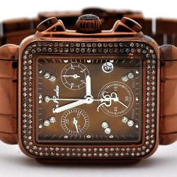 Joe Rodeo Madison 1.50 ct Diamond Brown Watch JRMD200