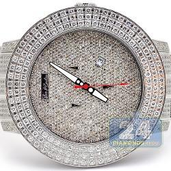 Joe Rodeo Pilot 20.35 ct Diamond Mens Watch RJRPL5