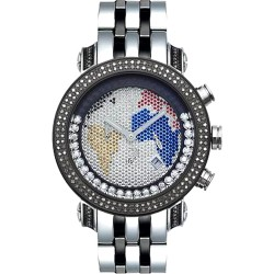 Joe Rodeo Classic 1.75 ct Diamond Mens World Dial Watch JCL40(W)