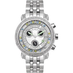Joe Rodeo 1.70 ct Diamond Mens Multicolored Watch JCL52(WYB)