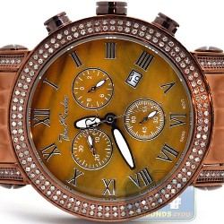 Joe Rodeo Brown PVD 1.75 ct Diamond Mens Watch JCL200