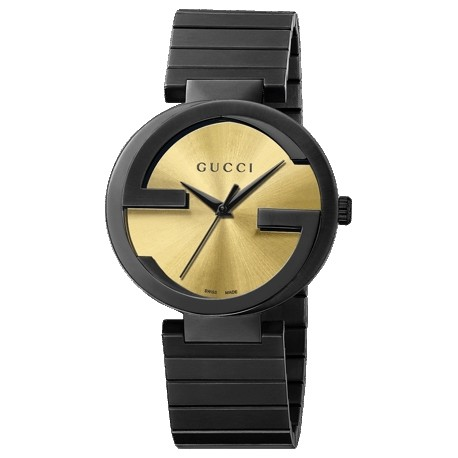 Gucci Interlocking Special Grammy Bracelet Mens Watch YA133209