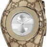 Gucci U-Play Champagne Guccissima Bandeau Womens Watch YA129425
