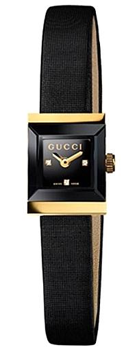 6b853071dc5 Gucci G-Frame Square 18K Gold 2 Tone Womens Watch YA128505