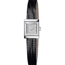 Gucci G-Frame Square Pave Diamond Dial Womens Watch YA128509