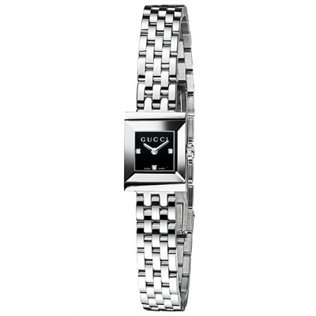 Gucci G Frame Square Black Womens Watch Ya128507