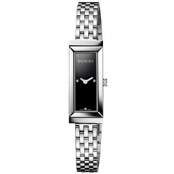 Gucci G-Frame Rectangular Black Dial Womens Watch YA127504