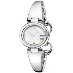0a4af996613 Gucci Guccissima Small Size Silver Dial Womens Watch YA134502