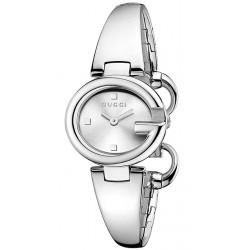 Gucci Guccissima Small Size Silver Dial Womens Watch YA134502