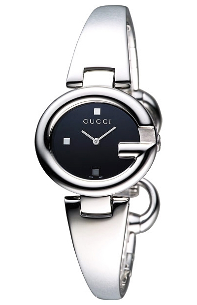 6aa8d76521f Gucci Guccissima Diamond Steel Bangle Womens Watch YA134501