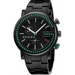 Gucci G-Chrono Green Topaz Mens Watch YA101349