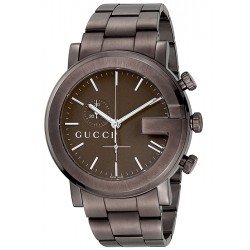 Gucci G-Chrono Brown PVD Mens Watch YA101341